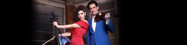 dave and linda electric violin & cello duo london