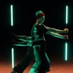 Video The Elf Show Christmas Themed LED Elf Acrobats Dorset