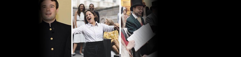 artists similar to The Fabulous Singing Waiters
