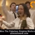Video The Fabulous Singing Waiters  London