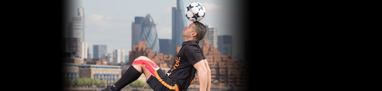 football freestyler circus performer london