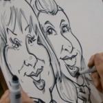 Video Francesco Caricatures Caricaturist London