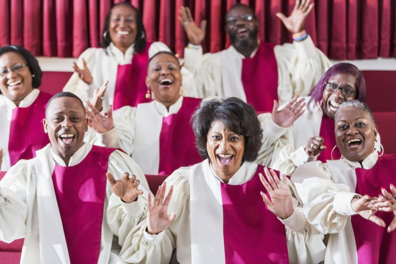 gospel choir & gospel singers for weddings