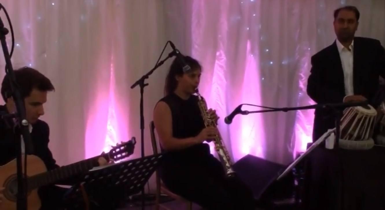 Live Indo-Jazz Band Indian Jazz Trio London