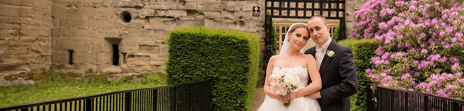 fairytale warwick castle wedding
