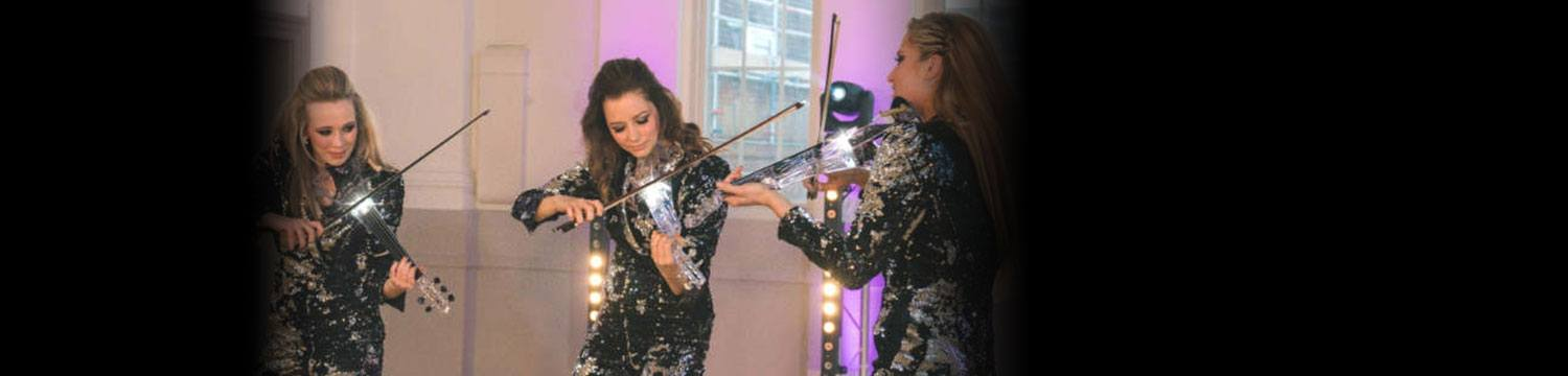 led glitter strings electric string ensemble london
