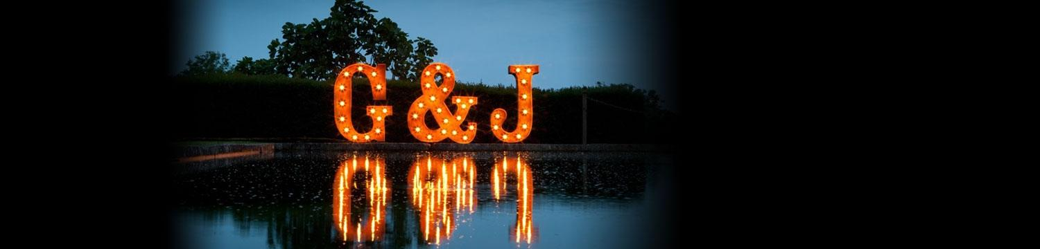letters in lights light up letters kent