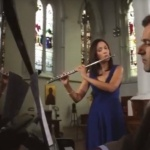 Video Lucia and Jon Flute and Piano Duo London