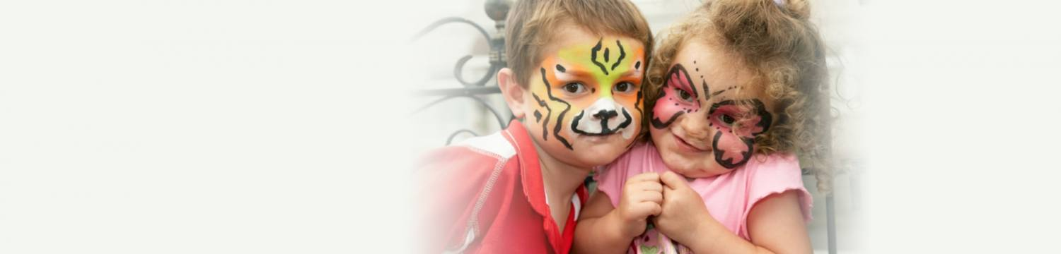 face painters for hire in shropshire