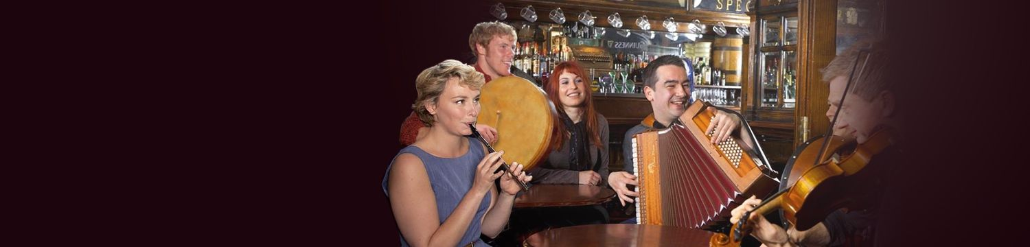 traditional irish / folk bands for hire in worcestershire