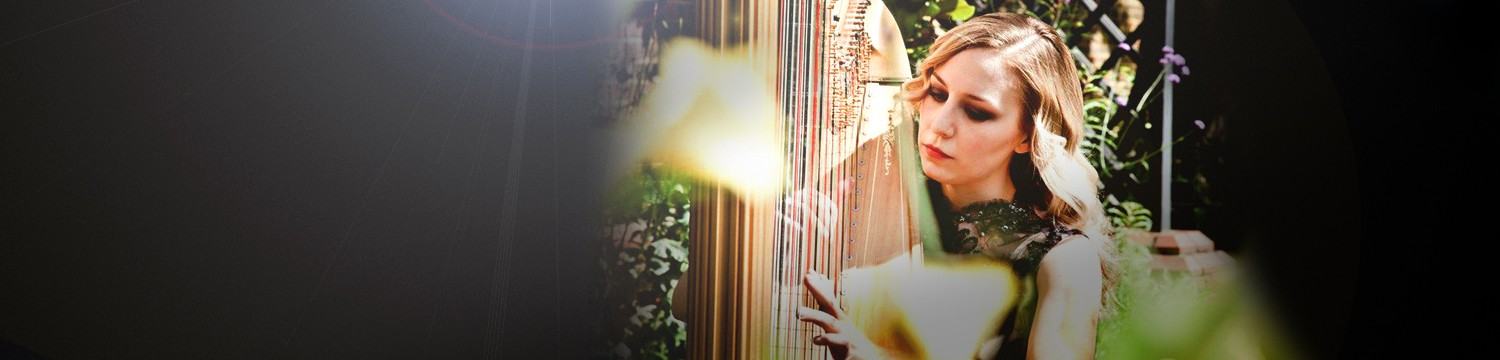 harp musicians for hire in leeds