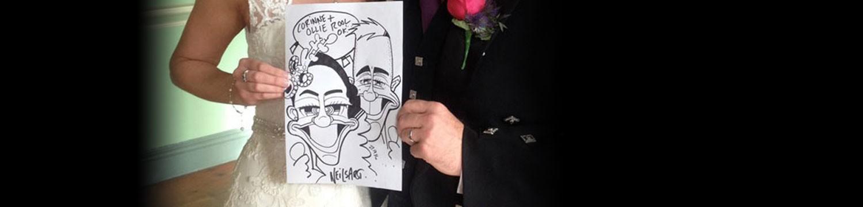 neil thomson caricaturist glasgow