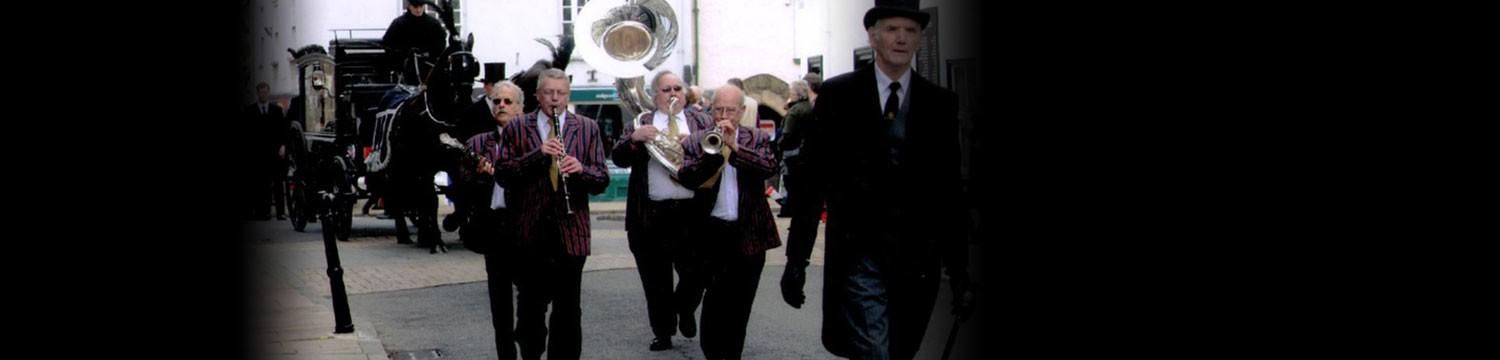 the new orleans jazz funeral band dixieland band hampshire