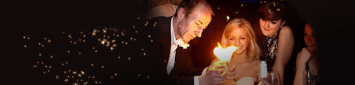 wedding magicians for hire - book a corporate party magician
