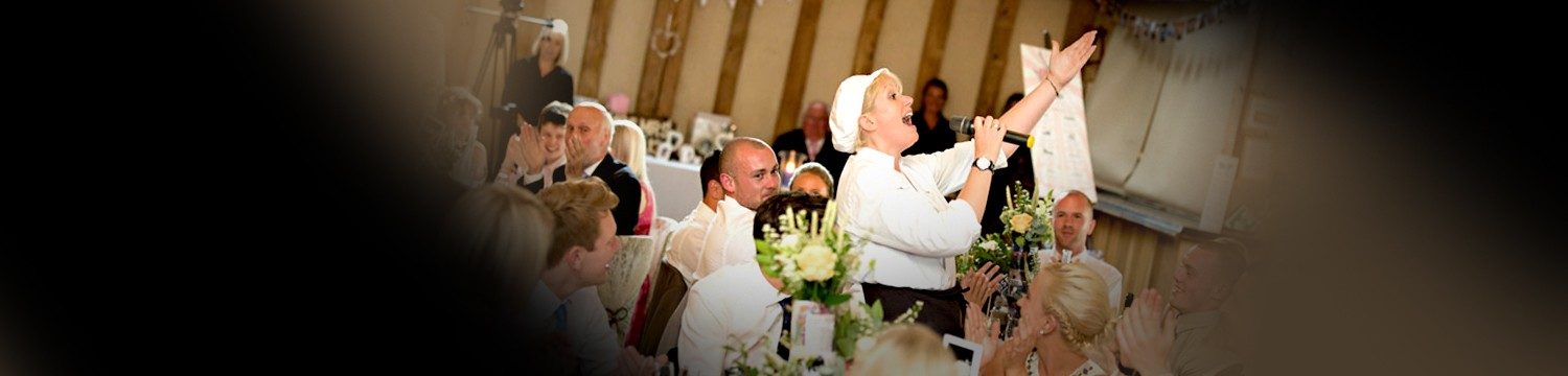 singing waiters wedding | surprise wedding singers