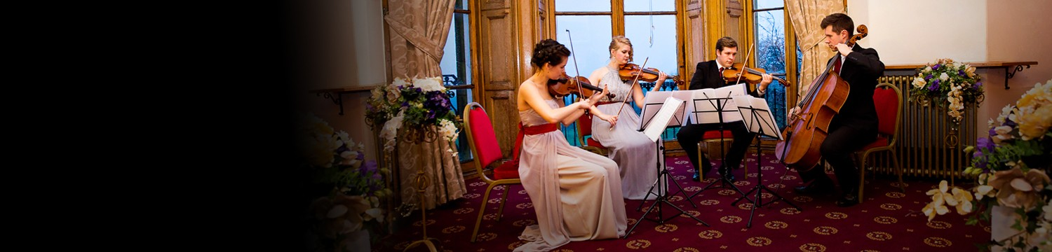 hire a derbyshire string quartet