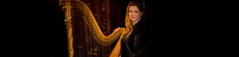 gold harp harpist east sussex
