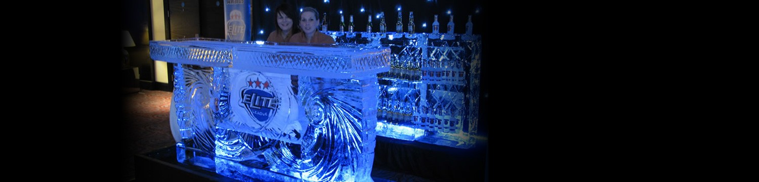 ice sculptures ice bar buckinghamshire