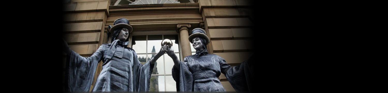 magical living statues street performer bristol