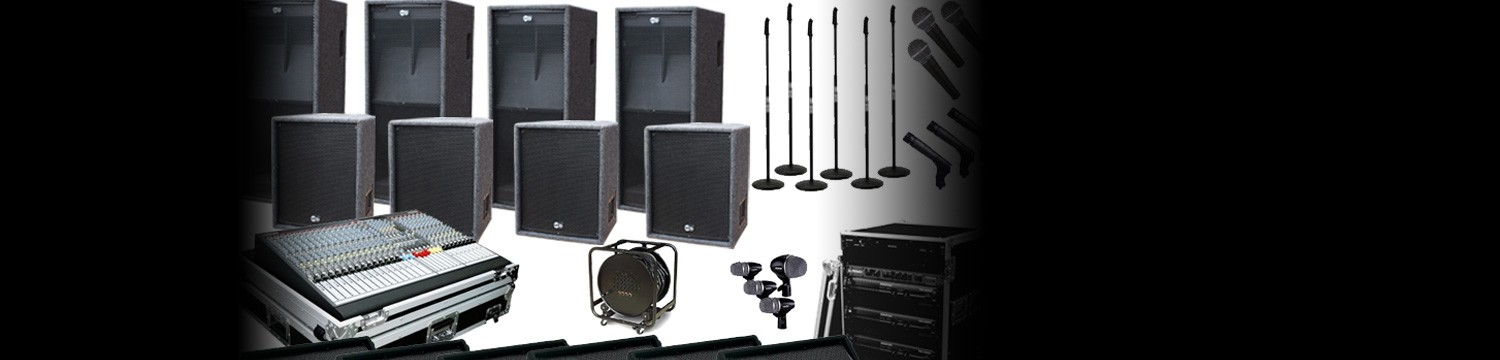 sound and pa hire sound equipment london