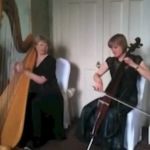 Video Nocturne Harp and Cello Duo Powick, Worcestershire