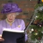 Video HRH Queen Elizabeth II (Patricia Ford) Queen Elizabeth Look alike Tamworth, Staffordshire