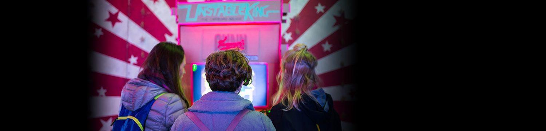 retro arcade event supplier somerset