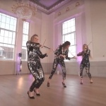 Video LED Glitter Strings Electric String Ensemble London