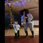Video Sax Goddess (Saxophonist)  Cheshire