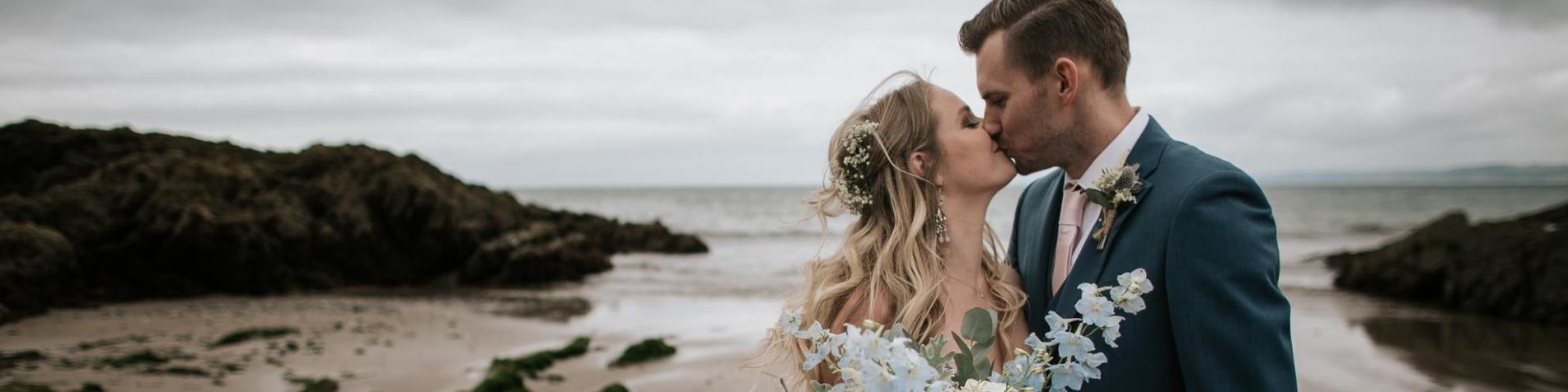 Romantic Coastal Wedding - Polhawn Fort, Cornwall