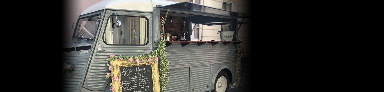 the vintage van mobile bar staffordshire