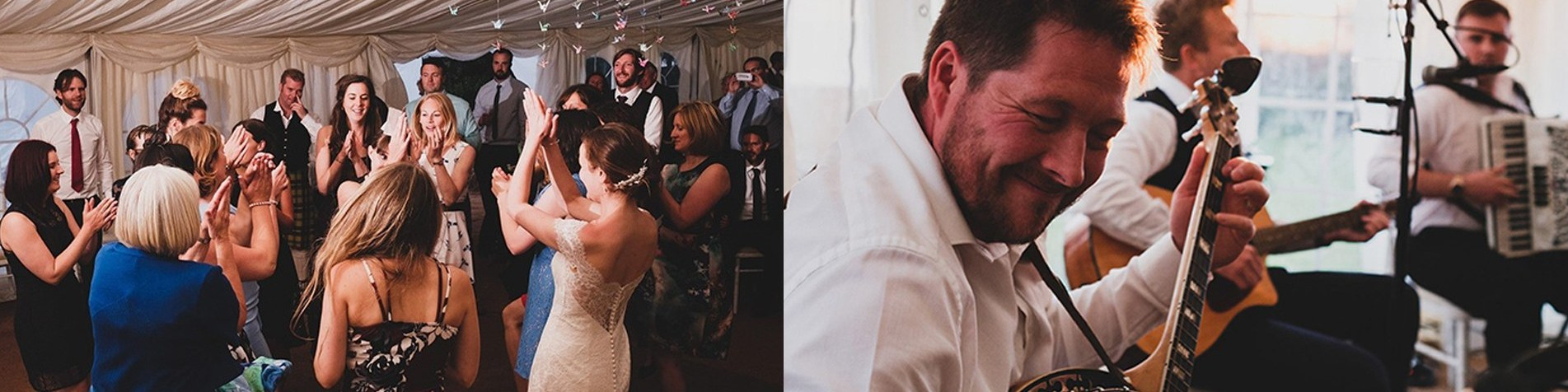 Top 10 Wedding First Dances for a Ceilidh or Folk Band to Play