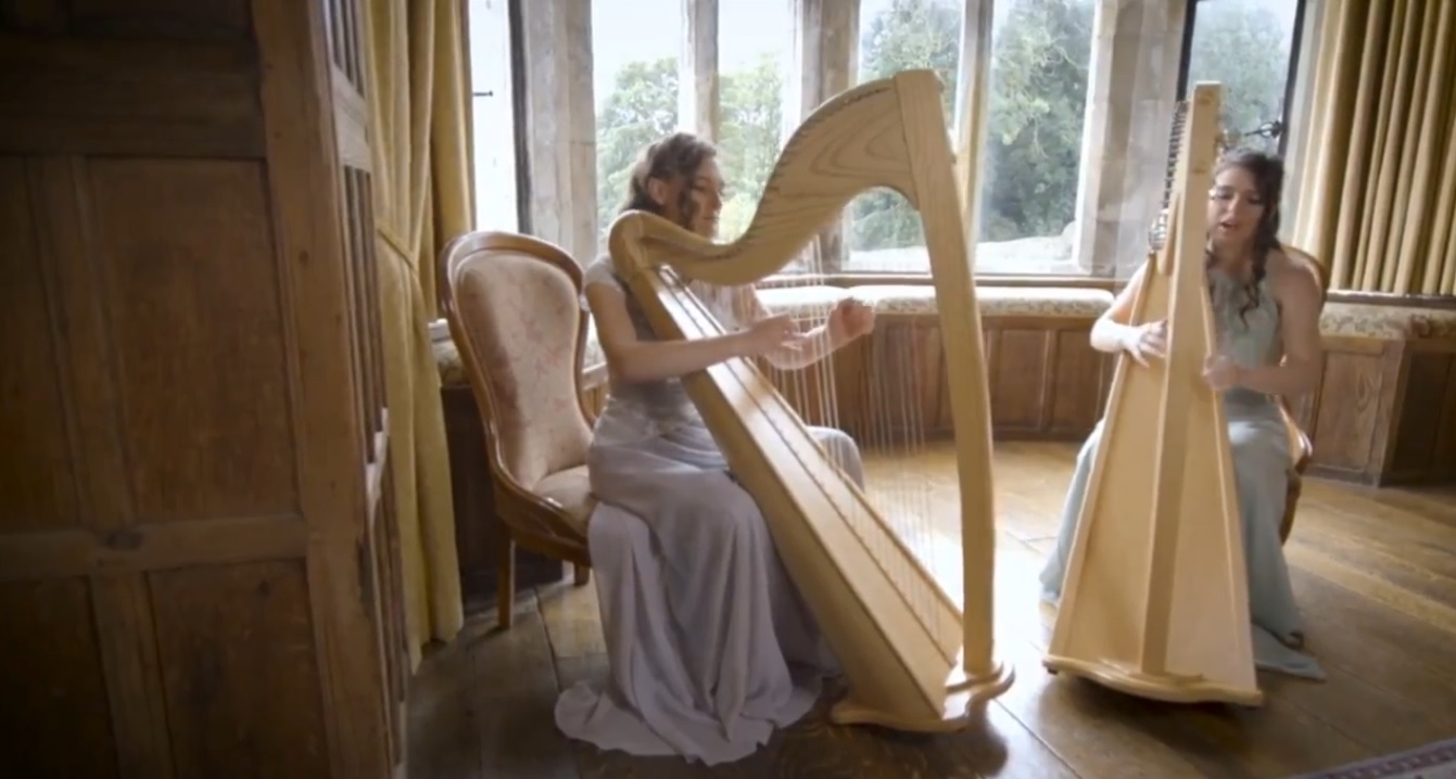 Video Ace of Harps Harpist Kent