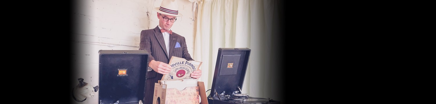 the vintage gramophone chap wedding dj lincolnshire