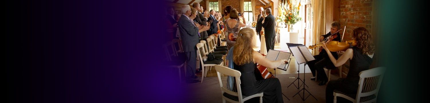 wedding ceremony musicians for hire - book live musicians for wedding ceremonies