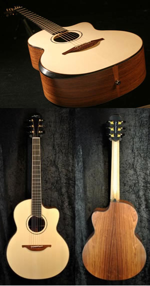 Pierre Bensusan signature model Lowden guitar